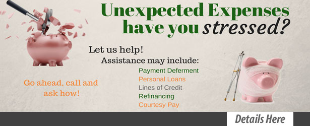 Stressful expenses loan promo